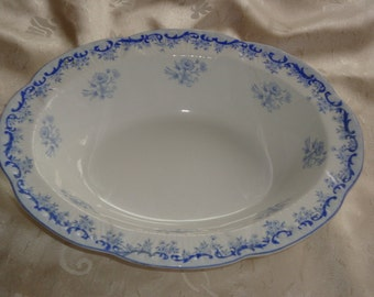 Shelley HEAVENLY BLUE Oval Vegetable / Serving Bowl