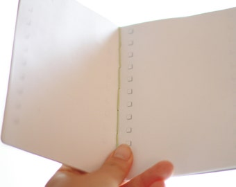 kraft to-do notebook // handbound / checkbox pages / travelers notebook / personalized journal / travel journal