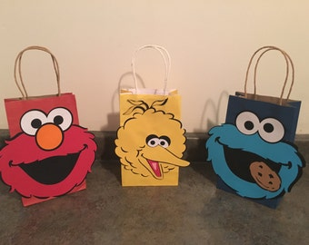 Sesame Street Favor Bag