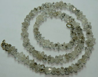 1 Strand High Quality Herkimer Diamond ,Quartz Double Terminated, Crystal ,Size====9x6x6mm