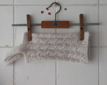 Recycled wool leg warmers / legwarmers