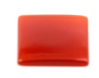 16x16 mm Square Carnelian Loose Gemstone