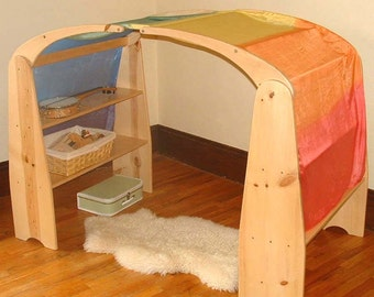 DIY Playstand Plans Build Your Own Waldorf-style Playstands and Canopy Digital Download