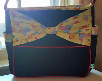 Dumbo Diaper Bag with Bow