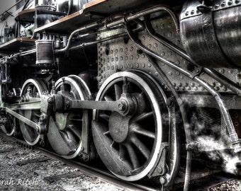 1920 Steam Locomotive wheels