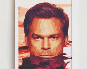 Dexter print wall art home decor interior