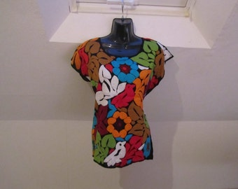 Blouse hand embroided