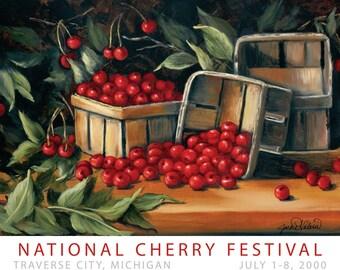 2000 National Cherry Festival Print