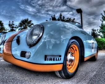 Down Low Porsche - Automobile Photography, Classic Cars, Automotive Photography, Classic Automobiles, Automotive Decor, Old Car Pictures