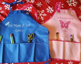 Personalized Kid's Apron / Smock
