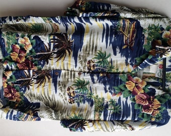 Vintage Of Hawaii Shirt 100% Rayon USA Size XL