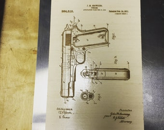 Laser Etched Patents