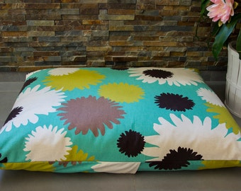 "Dogs&cats bed cover ""Turquoise dream"""