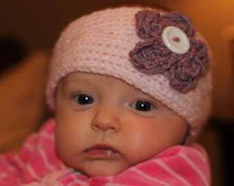 Knit Flower Headband - Infant
