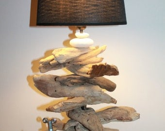 SOLD!  SOLD in Driftwood lamp!