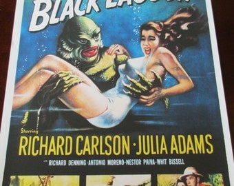 Creature From the Black Lagoon Movie Poster 24x36in scifi classic