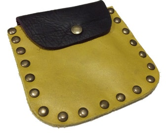 Coin wallet leather, leather wallet,Slim leather wallet, Coin pouch