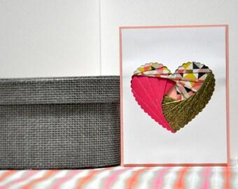 Heart (Iris Fold)