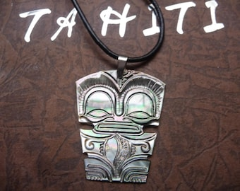 TIKI in engraved mother of Pearl or small model