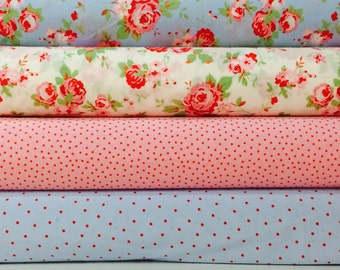 IKEA Cath Kidston Rosali  Fabric,  material shabby chic/Width 150 cm