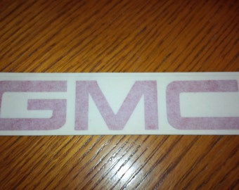 GMC Decal