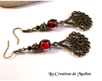 Cyrielle earrings * creators jewelry *.