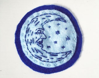 Moon and Stars Patch
