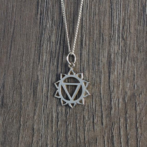 Sterling Silver Solar Plexus Chakra Necklace by xSpiritJewelx - photo #22