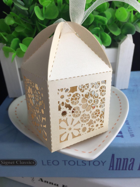 100pcs free shipping Mini Wedding Party Favor boxes,Handmade ...