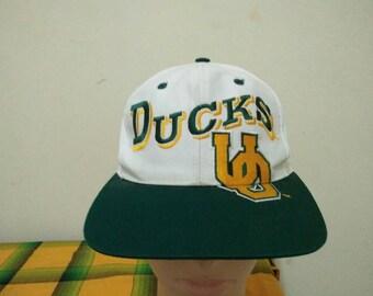Rare Vintage OREGON DUCKS Cap Hat Free size fit all