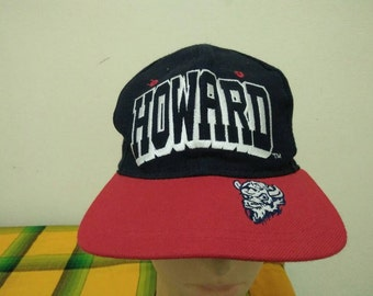 Rare Vintage HOWARD BISONS Cap Hat Free size fit all