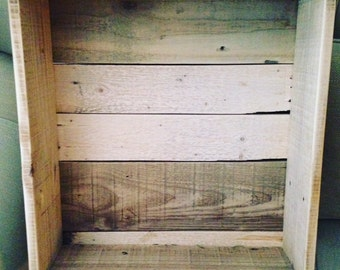 Reclaimed Pallet Shadow Box