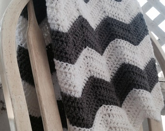 Crochet ripple blanket pattern, chevron baby blanket crochet pattern, chevron ripple crochet pattern, crochet chevron afghan pattern,