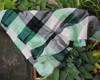 Bandana / Carré / neckerchief / kerchief - row silk
