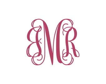 Custom Interlocking Monogram