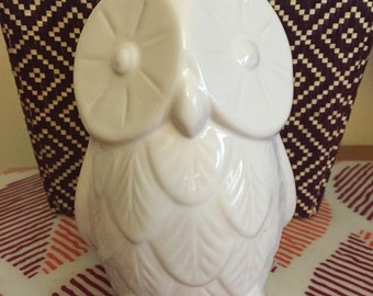 Awesome Vintage Ceramic Owl Figurine