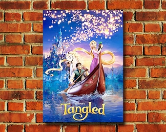 Tangled Movie Poster - #375