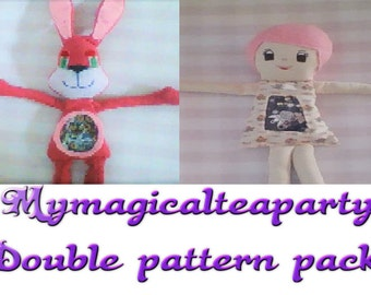 double pattern pack- Bailey and lovely Jess **SALE**
