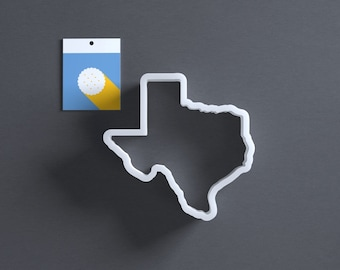 Texas cookie cutter, also good for fondant, cheese, etc.