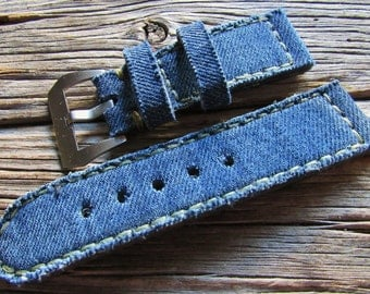 Jeans strap  26/26  125/75 for Panerai watch