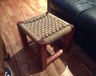 Stool braided