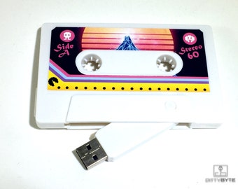 80s Retro Pac Man Cassette Flash Drive 8GB