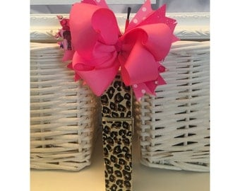 Pink Stacked Bow
