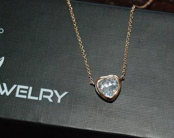 Australian Crystal Heart Necklace