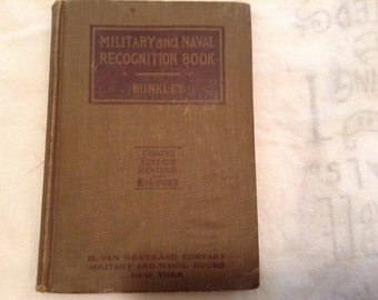 Military and Naval Recognition book
