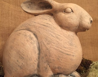 Garden Bunny Statue