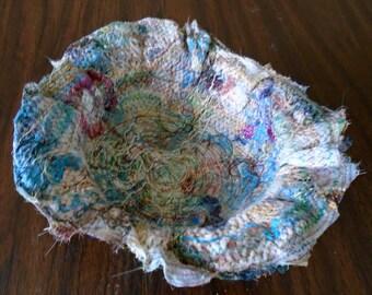 Fiber art bowl