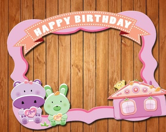 Toys House  themed party photo frame