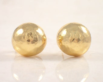 18K Yellow Gold Ippolita Dome Earrings