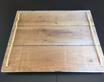 Barn Wood Tray